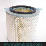 Motor ar/óleo/filtro petróleo de Feul/Hdraulic para Yuchai Yc60, máquina escavadora Yc230/carregador/escavadora