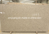 Tigre Skin Yellow Granite Slab pour Kitchen Countertops