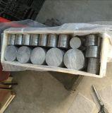 Disque de filtre d'armure d'acier inoxydable