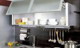 Gabinete de cozinha UV da laca do lustro elevado (ZX-010)