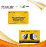 주문 선물 카드를 인쇄하는 선전용 플라스틱