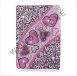 Caixa dura do Rhinestone cheio de Bling do diamante para o iPad mini