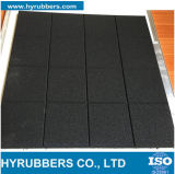 La gomma esterna di gomma del campo da giuoco delle mattonelle di pavimento usata mette in mostra il fornitore delle mattonelle