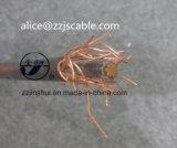 Надземная медь XLPE 0.6/1kv концентрического кабеля кабеля 1*10+10mm2