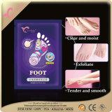 Exfoliating маска корки ноги для мягких, ровных ног