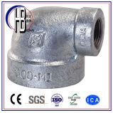 鋳造物の管付属品90度のステンレス鋼の赤。 肘