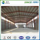 Gruppo di lavoro chiaro del magazzino della struttura d'acciaio a Qingdao