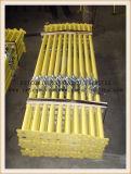 Q235調節可能なポストの海岸の鋼鉄は足場支柱を支える