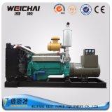 Tipo silenzioso del gruppo elettrogeno del motore diesel di marca 200kw/250kVA di Weichai