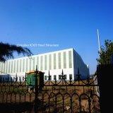 Entrepôt léger de construction préfabriquée de fabrication de structure métallique