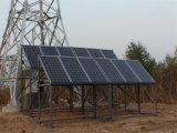 El panel solar polivinílico con el certificado del Ce