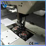Bolsa de cuero de la almohadilla del coche máquina de coser con doble aguja