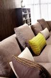 Sofa sectionnel de nouveau de la conception 2016 tissu élégant moderne de salle de séjour (HC8131)