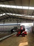 Animal alimentant télescopique de Capbility 800kg de chargement de chargeur de roue pour la ferme d'animaux