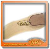 Pedazo brasileño de oro del pelo del encierro de la tapa del cordón