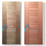 El panel moldeado diseño inusual de la puerta de la nuez HDF de Argelia Sapelli