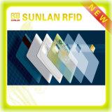 Cartão de identificação / cartão confiável RFID / cartão Nfc padrão ISO