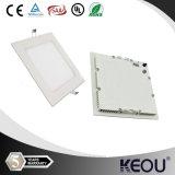 자격이 된 Ultra Slim 6W Square LED Panels Light