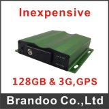 Автомобиль DVR Inexpensive, 4 Cameras Working, 128GB SD Card, 3G+GPS Optional, Model Bd-325 From Brandoo