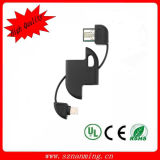 USB Data Cable de Keychain Shaped para Smartphone