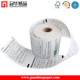 Rodillo del papel termal del pegamento 57m m 58m m del SGS