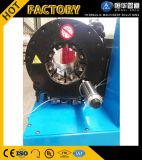 Hohe Präzisions-freier Form-hydraulischer Schlauch-quetschverbindenmaschinen-China-Lieferant