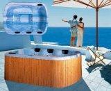 현대 여가 옥외 안마 온수 욕조 (M-3328)