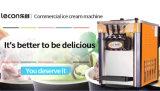 Machine commerciale de crême glacée de machine crème molle de générateur avec 10 ans d'expérience