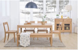 Good Price (M-X1096)를 가진 유럽식 Oak Wood Dining Table