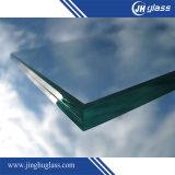 2.5mm+0.38PVB+2.5mm moderou o vidro laminado azul