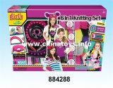 Beleza de venda quente dos brinquedos DIY do plástico ajustada (884282)