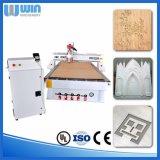 O dobro dirige o preço de cinzeladura de madeira de China da máquina do Woodworking da estaca do granito