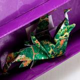 Livret explicatif estampé et Origami d'impression de cadre de papier