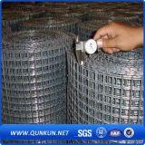 構築の電流を通され、PVCによって塗られる溶接された金網