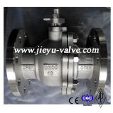 Шариковый клапан нержавеющей стали CF8m Pn16 Dn80
