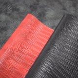 浮彫りにされたPU総合的な袋の革のようなワニのアニマル・スキン