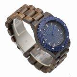 Reloj de hombre para material de madera