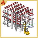Movimentação de aço resistente do armazenamento do metal do armazém na cremalheira