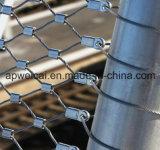 Сетка кабеля ловит сетью загородку сетки веревочки