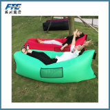 膨脹可能で不精な袋浜の空気ソファー