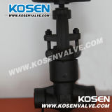 Нормальный вентиль уплотнения давления кованой стали (J61Y)