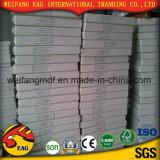 revestimento da película do PVC da cor do branco de 7.5mm para a placa de gipsita de papel com parte traseira da folha de Aliminum para o teto ou decorativo