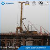 Impianto di perforazione di trivello rotativo idraulico di TR400D per la costruzione del fondamento