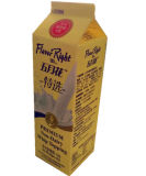 carton 1kg/cadre triangulaires à 3 couches pour le jus/lait/crème/vin/eau/yaourt