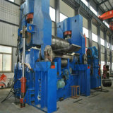 CNC 3 롤러 격판덮개 회전 기계