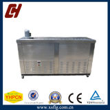 Tableau de fabrication de machine de bruit de glace/de travail acier inoxydable avec des roues