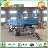 De regelmatige 20FT Volledige Aanhangwagen van de Trekbalk van de Vrachtwagen van het Lichaam van de Doos van de Lading Slepende