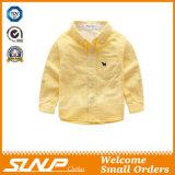 Overhemd van de Koker van de jongen het Lange met het Katoen van 100%