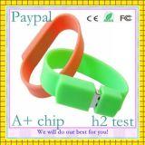 Выдвиженческий Wristband USB силикона подарка (GC-S009)