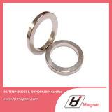 Magneti sinterizzati permanenti del neodimio del forte anello della terra rara N35 N38